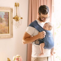 Ergobaby Embrace Baby Carrier from Newborn - Soft Navy