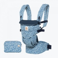 Ergobaby Omni 360 Newborn to Toddler Baby Carrier Batik Indigo
