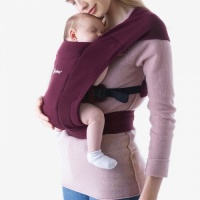 Ergobaby Embrace Baby Carrier from Newborn - Burgandy