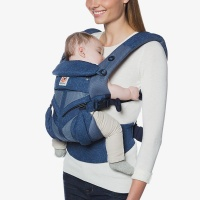 Ergobaby Omni 360 Cool Air 4 Position Newborn to Toddler Baby Carrier Blue Blooms