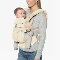Ergobaby Omni 360 Cool Air 4 Position Newborn to Toddler Baby Carrier Natural Weave
