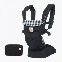 Ergobaby Omni 360 Newborn to Toddler Baby Carrier Gingham
