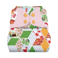 Flip Nappy Cover Patchwork - Limited Edition
