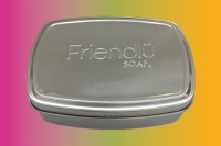 Friendly Soap Travel Tin - Perfect for Storing Your Shampoo and Soap Bars