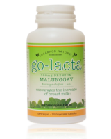 Go-Lacta Premium Malunggay Breastfeeding Supplement - Clinically Proven To Support Lactation (120 capsules)