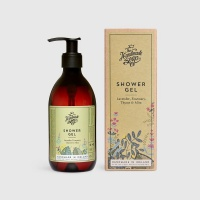 The Handmade Soap Company Shower Gel - Uplifting and Soothing Lavender Rosemary Thyme & Mint