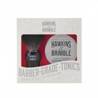 Hawkins and Brimble Elemi and Ginseng Beard Shaving Set - Barber Grade - Natural Ingredients