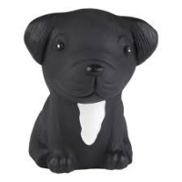 Hevea Puppy Teether Toy - Natural Rubber No Plastic Non Toxic French Bulldog
