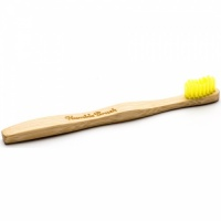 Humble Brush Ultrasoft Kids Eco Biodegradable Toothbrush Yellow