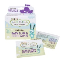 Jack n Jill Natural Baby Gum & Tooth Wipes 100% Biodegradable