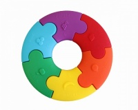 Jellystone Non Toxic Colour Wheel Toy and Teether