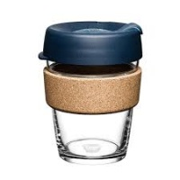 KeepCup Brew Reusable Coffee Cup with Cork Band - Spruce