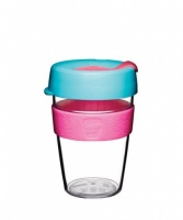 KeepCup Original Reusable Coffee Cup Clear Edition - Radiant