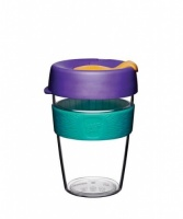 KeepCup Original Reusable Coffee Cup Clear Edition - Reef