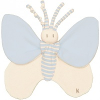 Bondifly Organic Cotton Butterfly with Removable Scent Wing - Perfect for  Premature/Newborn Babies - Blue