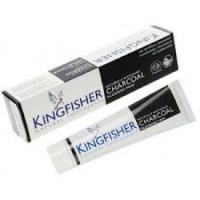 Kingfisher Natural Charcoal Whitening Toothpaste - Flouride Free