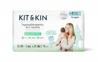 Kit & Kin High Performance Eco Friendly Nappies Size 1 - 2-5kg/4-11lbs (40 nappies)