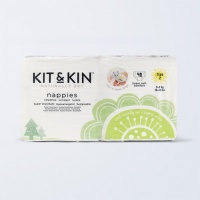 Kit & Kin High Performance Eco Friendly Nappies Size 2 - 5-8kg/12-18lbs (40 nappies)