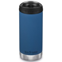 Klean Kanteen Insulated TK Wide - Perfect for Coffee or Cold Drinks 355ml/12oz Cafe Cap Real Teal