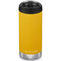 Klean Kanteen Insulated TK Wide - Perfect for Coffee or Cold Drinks 355ml/12oz Cafe Cap Marigold