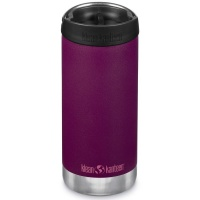 Klean Kanteen Insulated TK Wide - Perfect for Coffee or Cold Drinks 355ml/12oz Cafe Cap Purple Potion