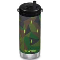 Klean Kanteen Insulated TK Wide with Twist Cap and Straw - 12oz/353ml Electric Camo