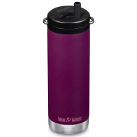 Klean Kanteen Insulated TK Wide with Twist Cap and Straw - 16oz/473ml Purple Potion