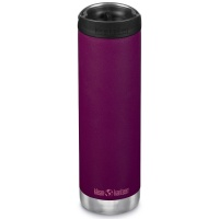 Klean Kanteen Insulated TK Wide - Perfect for Coffee or Cold Drinks On The Go 592ml/20oz Cafe Cap Purple Potion