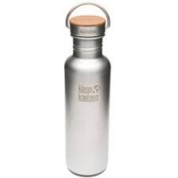 Klean Kanteen Reflect Brushed Stainless Steel Reusable Water Bottle - 800 ml / 27 oz