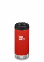 Klean Kanteen Insulated TK Wide - Perfect for Coffee or Cold Drinks 355ml/12oz Post Box Red