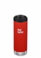 Klean Kanteen Insulated TK Wide - Perfect for Coffee or Cold Drinks 473ml/16oz Post Box Red