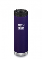 Klean Kanteen Insulated TK Wide - Perfect for Coffee or Cold Drinks On The Go 592ml/20oz Deep Surf