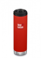 Klean Kanteen Insulated TK Wide - Perfect for Coffee or Cold Drinks On The Go 592ml/20oz Post Box Red