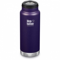 Klean Kanteen Insulated TK Wide - Perfect for Coffee or Cold Drinks On The Go 946ml/32oz Kalamata