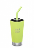 Klean Kanteen Insulated Tumbler - Perfect for Smoothies and Iced Drinks - 473ml/16oz Juicy Pear