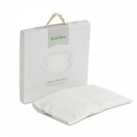 The Little Green Sheep Organic Jersey Fitted Sheet Cot 60cm x 120cm