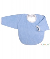 Iobio Organic Cotton Long Sleeved Bib Aqua