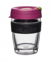 KeepCup LongPlay Reusable Insulated Take Away Cup - Cocoa