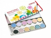 Memo Natural Water Based Paint Set from Plant Extracts