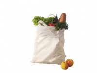 Memo Organic Cotton Fair Trade Long Handled Bag for Plastic Free Shopping!