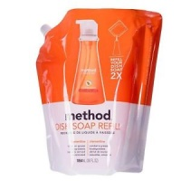 Method Washing Up Liquid with Powergreen Technology - Clementine Refill
