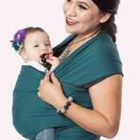 Moby Wrap Classic Stretchy Baby Carrier from Newborn  - Pacific