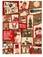 Moo Free Advent Calender - Dairy Free Gluten Free and Vegan