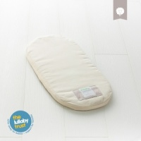 The Little Green Sheep Natural Moses Basket Mattress