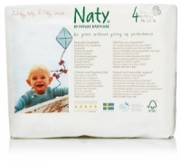 Naty Nature Babycare  Pull Up Nappy Pants Monthly Value Pack Size 4