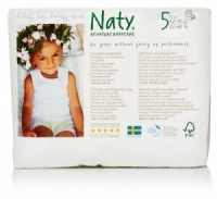 Naty Nature Babycare  Pull Up Nappy Pants Monthly Value Pack Size 5