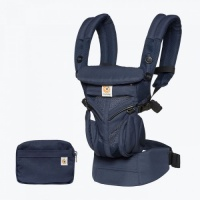 Ergobaby Omni 360 Cool Air 4 Position Newborn to Toddler Baby Carrier Midnight Blue