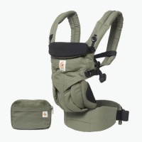 Ergobaby Omni 360 4 Position Newborn to Toddler Baby Carrier Khaki Green