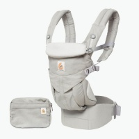 8c51aa7f2f9 Ergobaby Omni 360 4 Position Newborn to Toddler Baby Carrier Pearl Grey