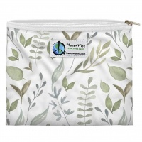 Planetwise Reusable Zipper Sandwich / Snack Bag Beleaf In Yourself
